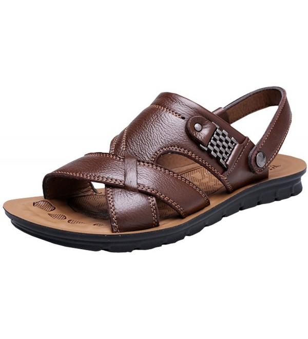 Vocni Leather Comfort Sandals 43 9 5D