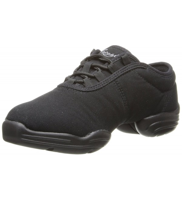 Capezio Canvas Dance Sneaker Black