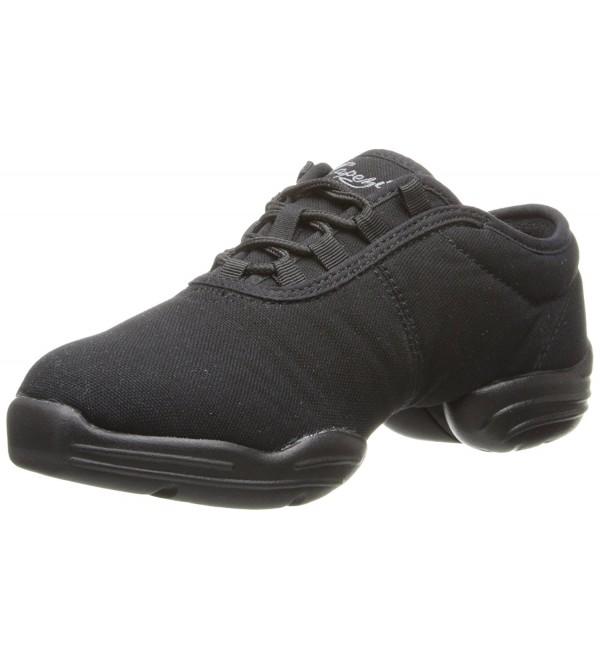 Capezio Canvas Dance Sneaker Black