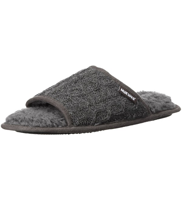 Luks Mens Andy Slipper Grey