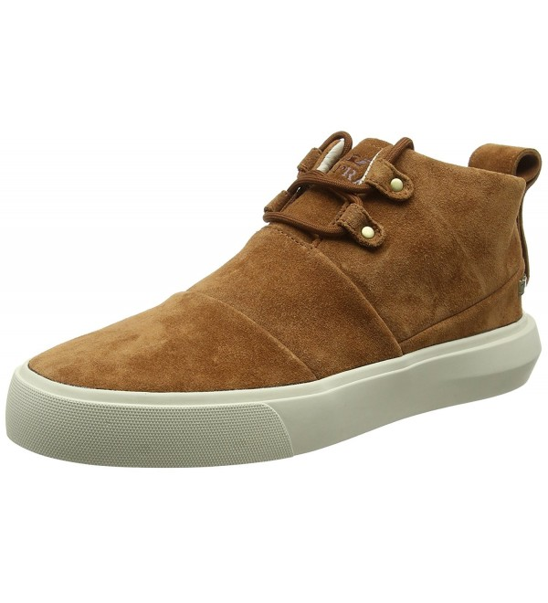 Supra Mens Charles Brown White