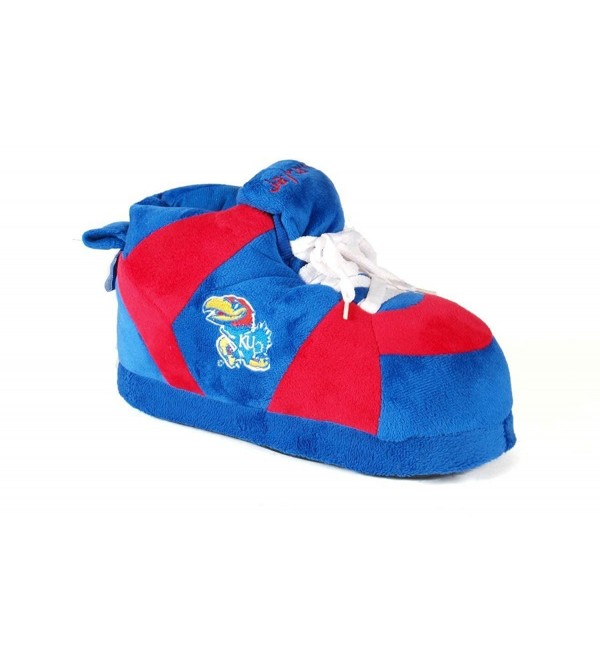 KAN01 5 Kansas Jayhawks Womens Slippers