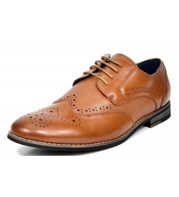 Bruno Florence 1 Brown Leather Oxfords