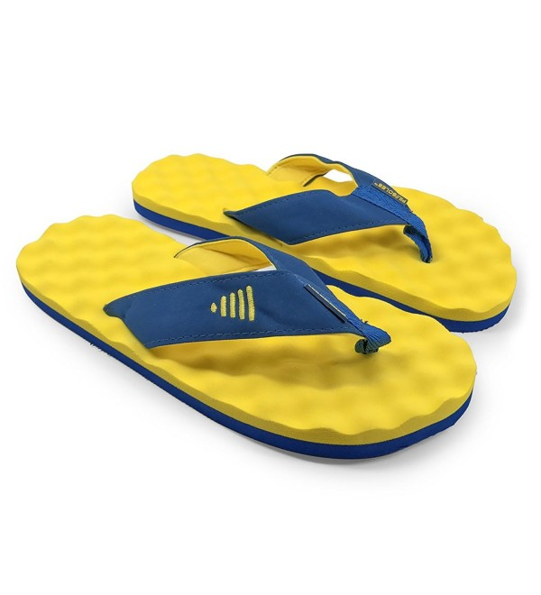 SOLES Recovery Sandals Athletes Yellow