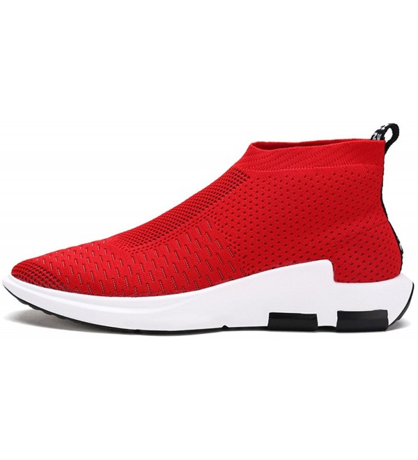 1094b456b Men's Running Shoes Free Transform Flyknit Fashion Sneakers - Red ...