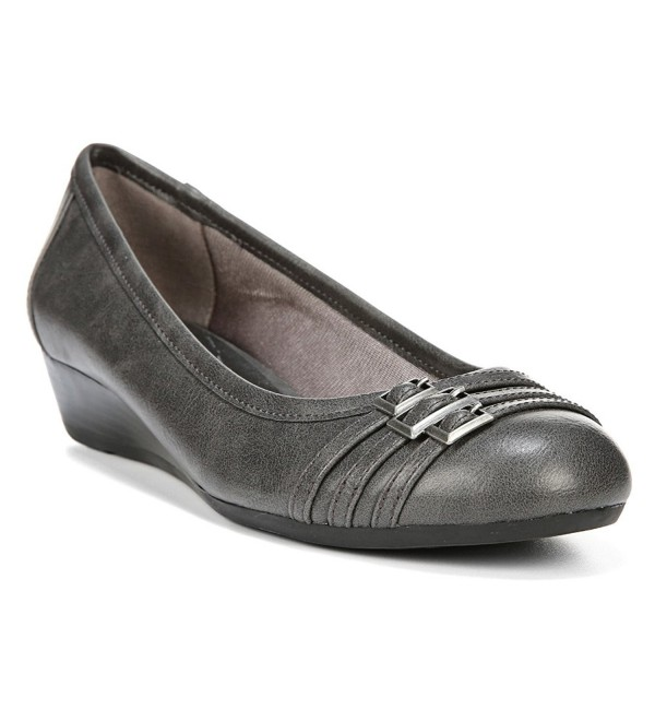 LifeStride Womens Farrow Dark Wedge