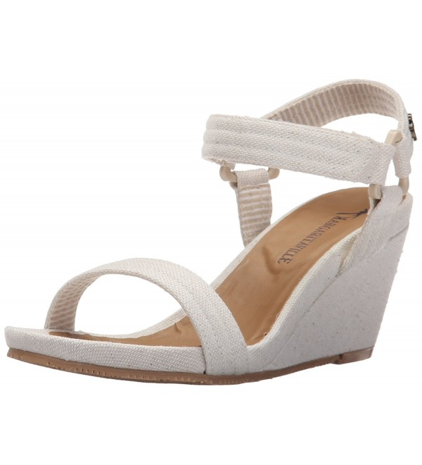 Margaritaville Womens Pompeii Heeled Natural
