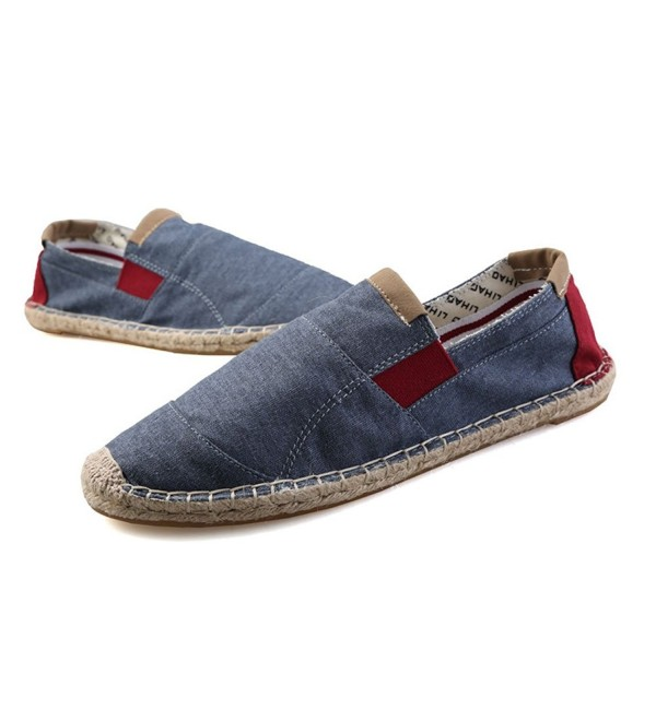 Plaid Plain Sneaker Casual Espadrilles