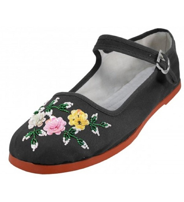 Womens Cotton Shoes Ballerina Ballet