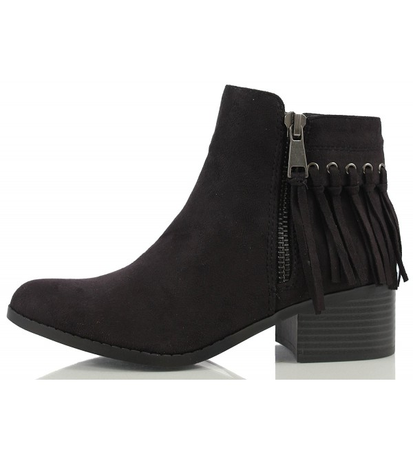 City Classified Womens Fringe Stacked