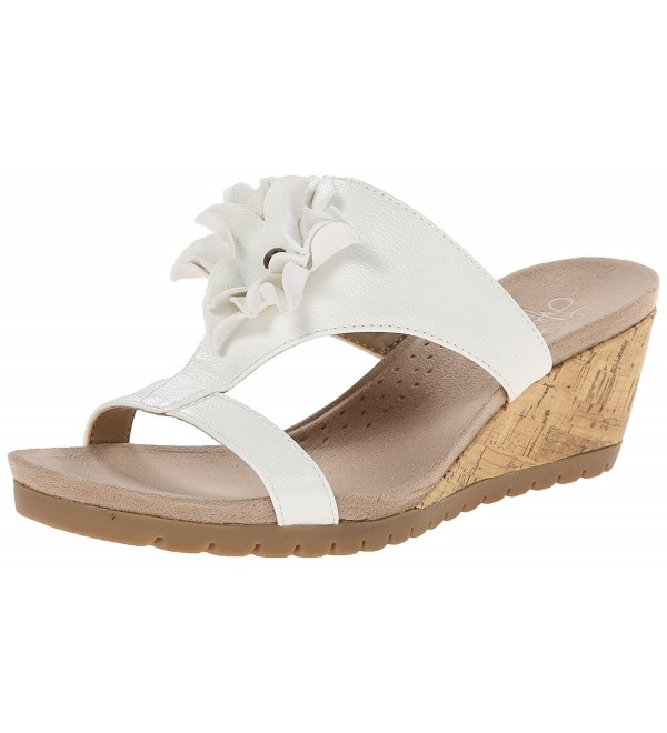 LifeStride Womens Notice Wedge Sandal