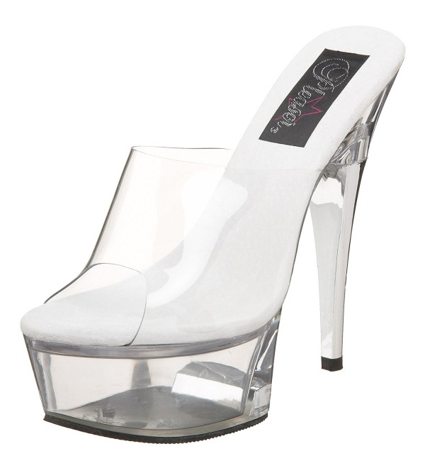 Pleaser Womens Captiva 601 Platform Slide