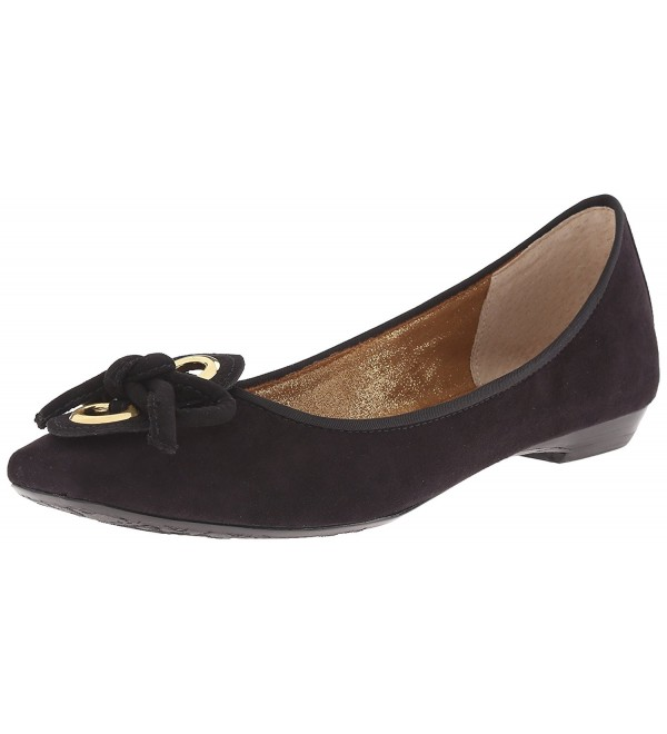 J Renee Womens Edie Ballet Black
