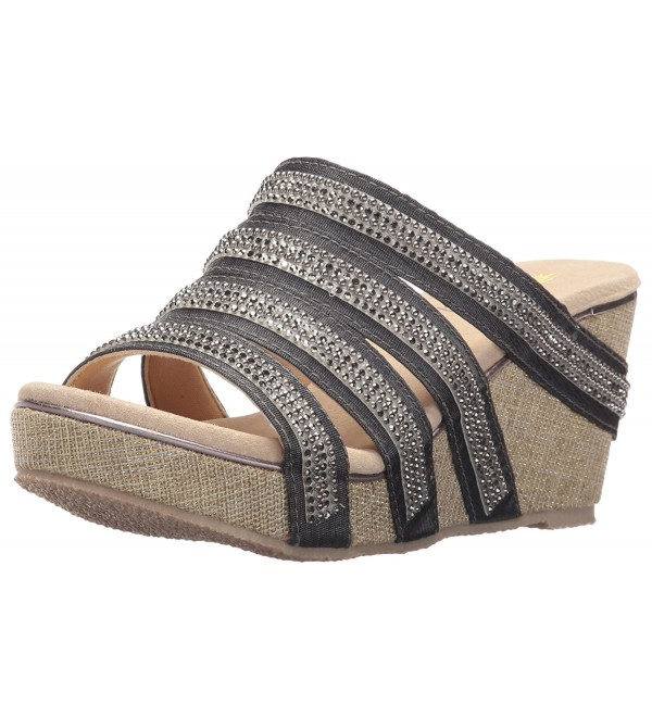 Volatile Womens Sensation Sandal Pewter