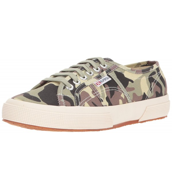 Superga Womens Fantasy Sneaker Camouflage
