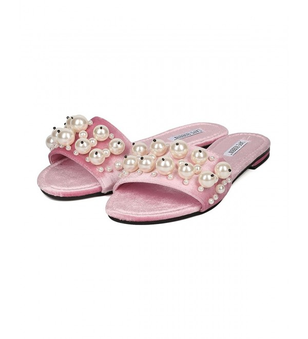 Womens Evelyn Embellished Slipper Sandals