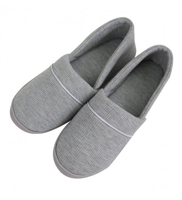 VLLY Comfort Textile Slippers Anti Skid