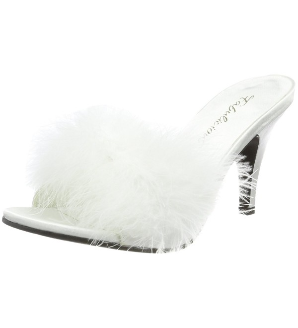 Pleaser Womens Amour 03 Pump White