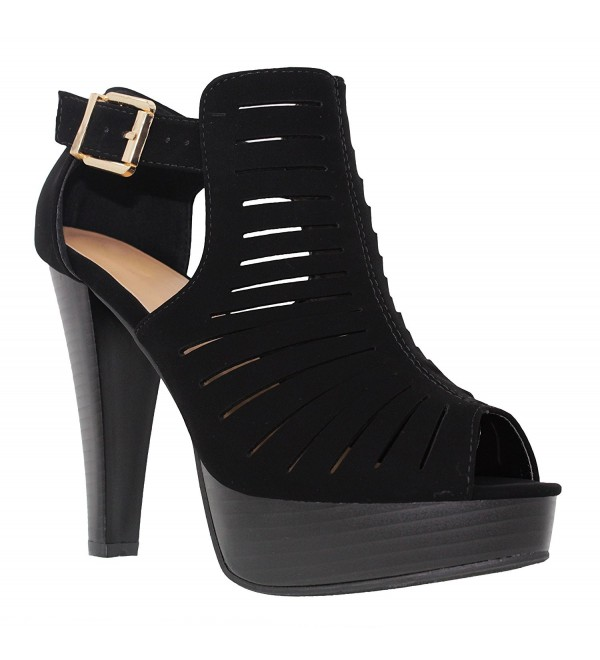 MVE Shoes Ankle Cutout Platform