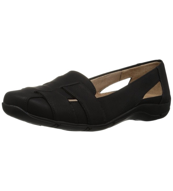 LifeStride Womens Ballet Flat Black