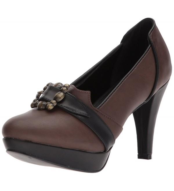 Ellie Shoes Womens 414 Marian Platform