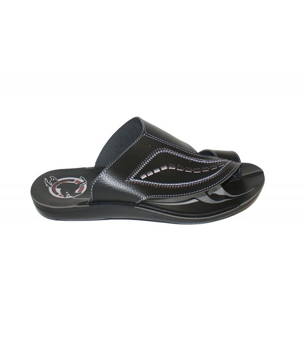 Horse Man Leather Malibu Sandals