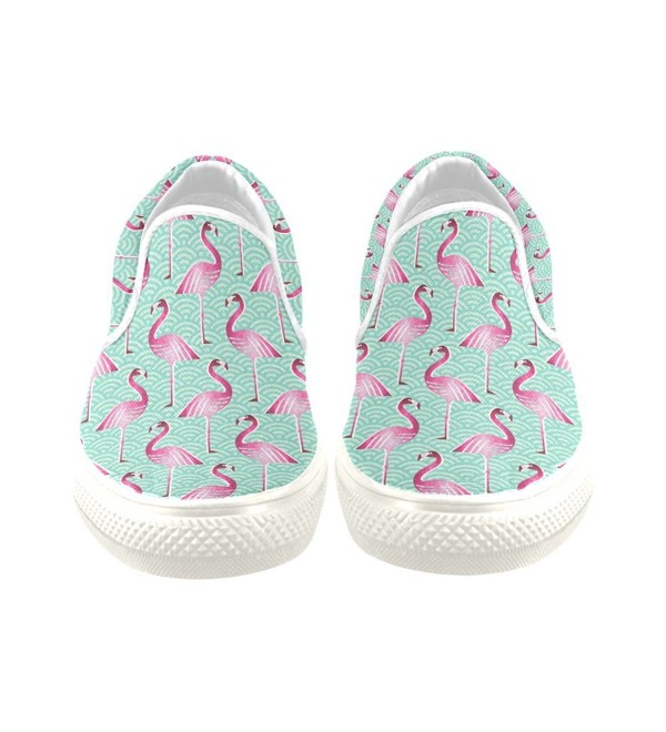 D Story Sneaker Flamingo Canvas Shoes