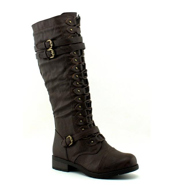 Wild Diva Womens Timberly 65 Boots