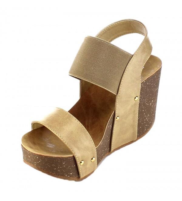 Refresh Womens Mara 10 Platform Sandal