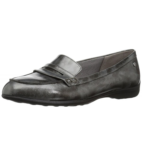 LifeStride Womens Penny Loafer Pewter