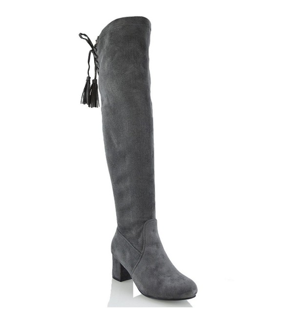 ESSEX GLAM Womens Suede Boots