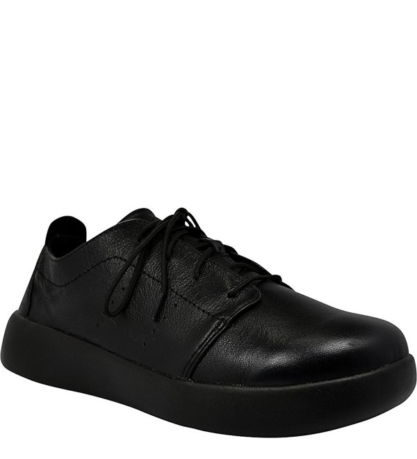 SoftScience Mens Pro Lace Black Leather