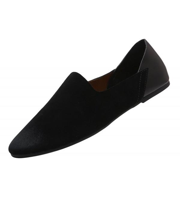 VanciLin Leather Fashion Loafers Van89031Black45